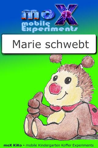 moX Marie schwebt