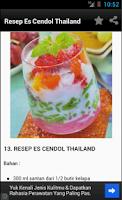 Screenshot of Kumpulan Resep Minuman Segar