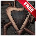Steampunk heart live wallpaper icon