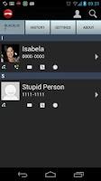 Screenshot of Stupid Phonecalls Blocker Free