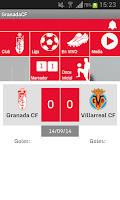 Screenshot of Granada CF