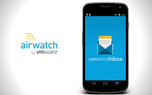 AirWatch Inbox Business app for Android Preview 1