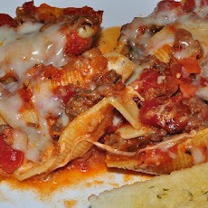 No Mess or Stress Stuffed Shells - Semi-Homemaker Recipe