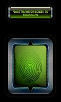 Screenshot of Prank Finger Print Scanner