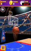 Screenshot of Swipe Basketball 3D