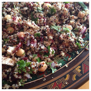 Simple Delicious Quinoa Salad (GF)