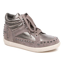 Ash Kiss Ter Wedge Trainer HIGHT TOP