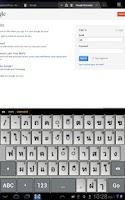 Screenshot of Thai Keyboard Envy
