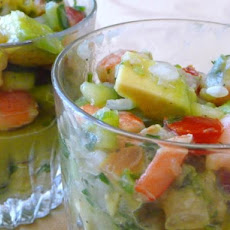 Shrimp Ceviche With Avocado