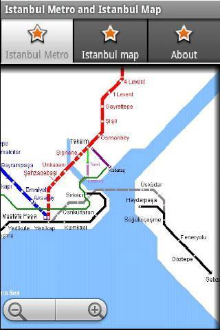 伊斯坦布尔地铁运行图 伊斯坦布尔地图