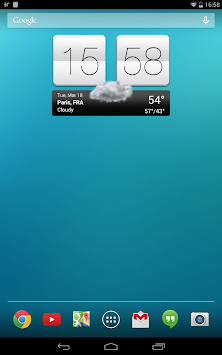 Sense V2 Flip Clock & Weather APK screenshot thumbnail 13