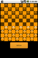 Screenshot of Checkers - Dammen