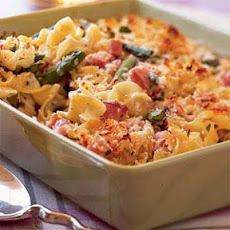 Asparagus-and-Ham Casserole