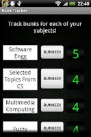 Screenshot of Bunk Tracker