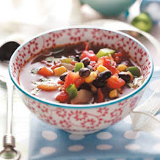 Southwest Bean Soup Recipe