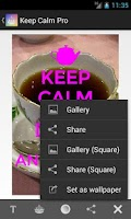 Screenshot of Keep Calm Pro