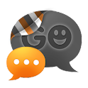 GO SMS THEME - Smooth Orange icon