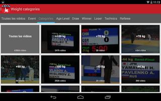 Screenshot of Judo Video