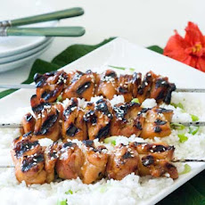 Gluten Free Grilled Orange Chicken