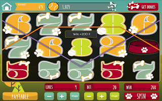 Screenshot of Slots - Pomeranian Pennies