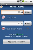 Screenshot of Currency