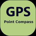 GpsPointCompass icon