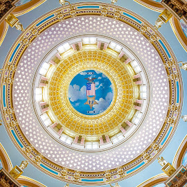 Des Moines Capital by Brent Gudenschwager - Buildings & Architecture Architectural Detail ( interior, iowa, building, america, art, architecture, capital, des moines )