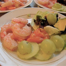 Simple Shrimp Appetiser/Appetizer