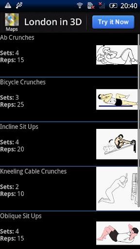 Killer Ab Workouts