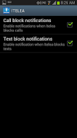Screenshot of Call blocker, text, SMS Block