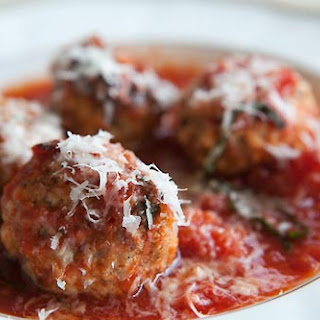 Meatballs with Ricotta in Tomato Sauce