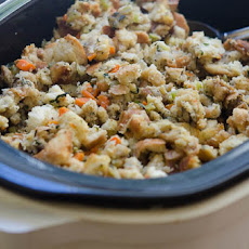 Traditional Bread Stuffing (Crock-Pot Method)