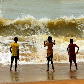 kids are playing mood by Santanu Dutta - Babies & Children Children Candids