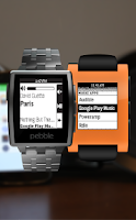 Screenshot of Music Boss for Pebble