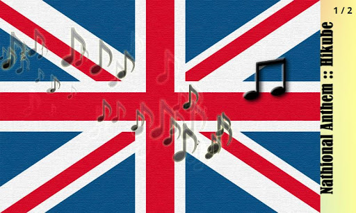 イギリスの国歌::弾くべ fa