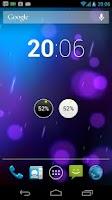 Screenshot of AMP KNOB Battery Widget
