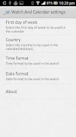 Screenshot of Watch And Calendar - Liveview