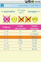 Screenshot of Numerki -  Lotto Polska