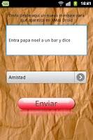 Screenshot of Mensajes para Navidad 2013