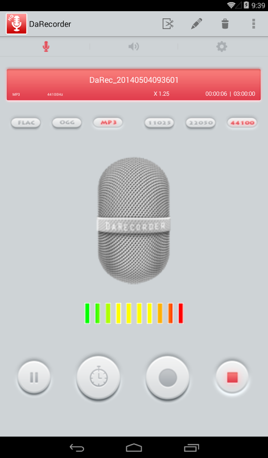 High Quality Voice Recorder Screenshot 17