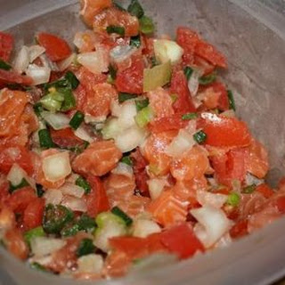 Lomi Lomi Salmon (Hawaiian)