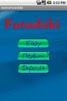 Screenshot of Android Futoshiki Lite