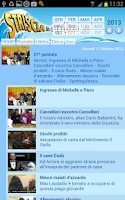 Screenshot of Striscia la APP