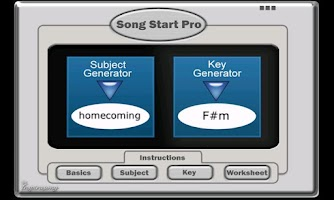 Screenshot of Song Start Pro