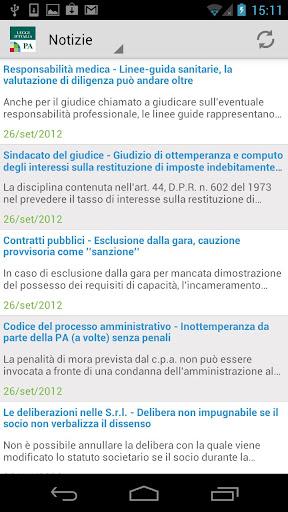Notizie PA Leggi d'Italia