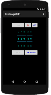 Exchange Calculator Watch