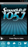 Screenshot of Smooth R&B 105.7 - KRNB