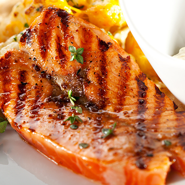 Eighteen-Minute Salmon With A Fresh Ginger Glaze Recipes — Dishmaps