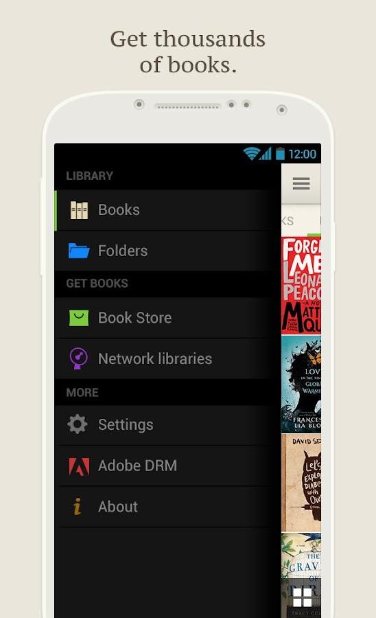 PocketBook reader – Screenshot