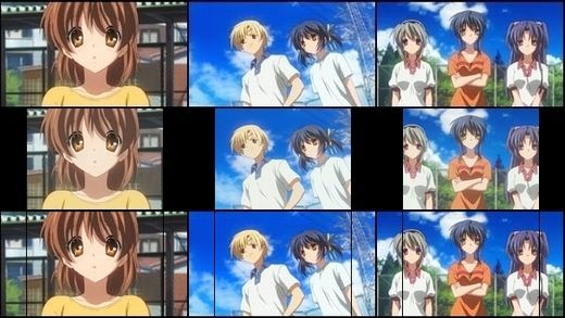 16:9与4:3的差距-Clannad After Story